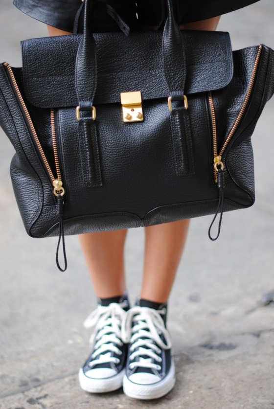 phillip-lim-bag-shopping-bag-gold-details-converse-shoes-all-star
